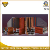 Porte d'interruption thermique en verre de double d'usine de Foshan et guichet en aluminium (55 séries)
