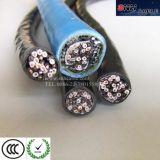 Aislamiento de PVC Instrumento Flexible Cable 110V& 600 V, Cable de alimentación