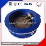 Valvola di ritenuta della cialda del ghisa con il singolo piatto