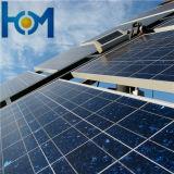 glace inférieure de panneau solaire de fer d'arc Tempered de 3.2mm avec OIN, SPF, GV