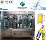 Machine de remplissage de matériel de brassage de bière de bouteille en verre