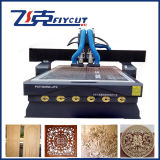 CNC de grande eficacia Woodworking Machine de Multifunction com Vacuum Table e Dust Collection System
