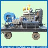 Pequeña máquina de alta presión de la limpieza del tubo de desagüe de la alcantarilla del motor de gasolina