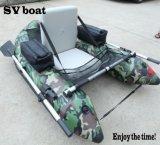 個々の膨脹可能な腹ボートの便利で小さい漁船