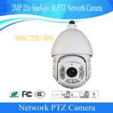 Camera van het Sterrelicht PTZ van IRL van het Toezicht van kabeltelevisie van de Veiligheid van Dahua 2MP 25X de Openlucht Digitale Video (sd6c225u-HNI)