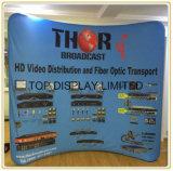 Venta caliente Exterior/Interior Magic Tape Pop up display Pop up Feria con la visualización de gráficos personalizados y focos mostrar