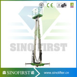6m-12m hydraulische Aluminiumluftarbeit-Plattform mit Cer