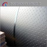 Heiße eingetauchte galvanisierte Checkered Platte des Fußboden-Q235
