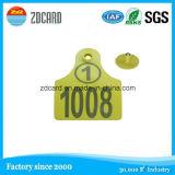 PVC RFID &#160 elegante; Contacto/etiqueta sin contacto del IC con la viruta