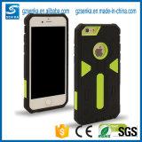 Caisse antichoc de téléphone de l'armure PC+TPU de guerrier de défenseur de bonne qualité pour l'iPhone 7/7plus