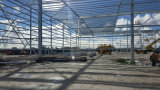 Almacén de acero aislado del almacenaje logístico en Autralia