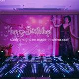 Partie de disco mince superbe LED portative Dance Floor