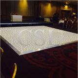 Illuminazione LED Dance Floor di effetto della stella della decorazione di cerimonia nuziale