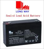 bateria 6V12ah acidificada ao chumbo selada carregável para o sistema do armazenamento alternativo