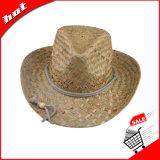 Chapéu de vaqueiro natural da palha do chapéu de palha do girassol