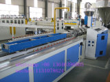 de Houten Plastic Samengestelde Lopende band van Decking van het Profiel 260kg/H Sjsz65/132 WPC