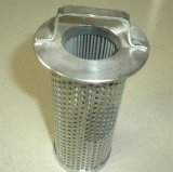 304 Cilindro Fitler de aço inoxidável 316