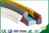 Perfil da extrusão da borracha de silicone para o automóvel e a construção