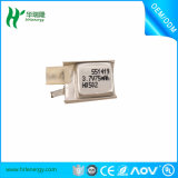Tamanho pequeno da bateria 3.7V 900mAh 523450 recarregáveis do Li-Polímero