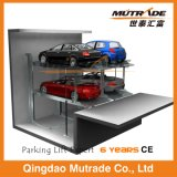 Подземный подъем стоянкы автомобилей 2 столбов гидровлический