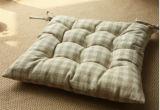 動揺の綿のギンガムの小切手の椅子のパッド