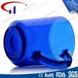 [220مل] جيّدة خداع لون زرقاء زجاجيّة ماء فنجان ([شم8128])