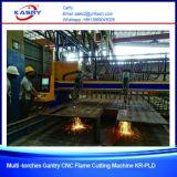 Máquina de estaca da flama do CNC do pórtico para o Kr-PLD da estaca da placa de aço de carbono