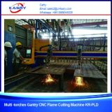 Plasma-und Flamme-gerade Ausschnitt-Maschinen-Metallplattenfabrik
