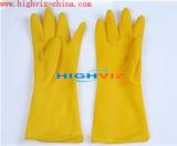 Перчатки безопасности латекса для работая предохранения (LG-001)