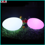 Tendance promotionnelle Christmas Flat Egg Lamp LED Gift Outdoor Garden Decoration