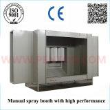 Cabinet de revêtement en poudre manuel le plus vendu avec système de récupération