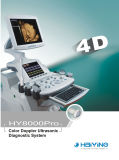 varredor Fetal do ultra-som de Doppler da cor do volume 3D/4D