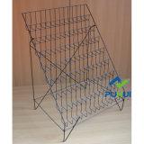 8 Nivel Tarjeta plegable de alambre de metal estante de exhibición (PHC309)