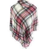 Самая лучшая продавая умеренная цена шарфа шотландки специальной конструкции акриловая связанная