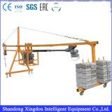 6dof Motion Construction Material Loading Scissor Lift Platform