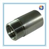 Заливка формы нержавеющей стали для штуцера трубопровода