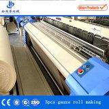 ガーゼの包帯の中国の省エネの管状の織物の編む織機
