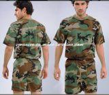 Roupa interior masculina militar em Woodland Camouflage