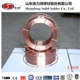 Schweißens-Verbrauchsmaterialien CO2 Arame De Solda MIG Wire Er70s-6