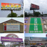 Roadside Jumbo Size Advertising Tri-Vision Billboard para estacionamento