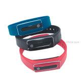 Bracelet intelligent de Bluetooth de long bracelet en attente avec le traqueur Hb02 de forme physique