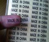 Venta al por mayor hecha en las etiquetas engomadas de China