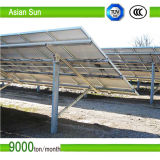 Estructura de montaje solar echada corchete solar del panel solar de la consola de montaje de la azotea