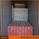 Rete fissa provvisoria smontabile rivestita del PVC di alta obbligazione di Anping