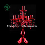 Rode Candle Holders voor Home Decoration door SGS
