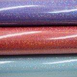 Cintilante patente Feltro Mala em couro PU Saco luminoso esmaltadas do couro