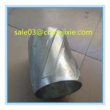 Palheta de espiral de alumínio rígido Solid Body centralizadora