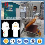 販売のための卸し売り手動Tシャツの印刷の熱の出版物機械