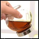 ガラス楕円形の瓶/蜂蜜の瓶