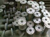 PVC, CPVC PP, PVDF / Flanges de PRFV, cotovelos, junções Tees,, dos tubos